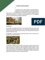 5 Ejemplos de Historia Universal, De Mexico y Locales