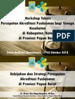 Kebijakan Dan Strategi Percepatan Akreditasi Puskesmas-1
