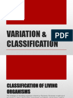 Variation Classification Evolution Combined
