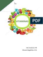 Vitaminas Trabalho