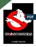 Ghostbusters Novelization by Larry Milne