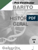 História Geral - Pré-Vestibular Dom Bosco - gab-hig-ex6