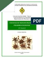 Fascicule de TP-Pharmacognosie 2018