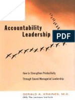 Accountability Leadership
