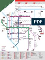 Plan Metro Lyon Mini
