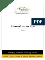 0329 Microsoft Access 2010 Level 2