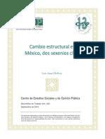 Cambio estructural en México