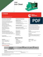 Planta Electrica Cummins C400D6