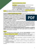 Resumen Int. Privado (verano) .docx