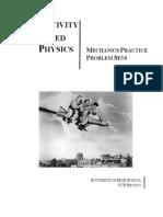 Mechanics Practice Problem Set