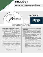 Bernoulli 2016 - 1° Simulado - Prova 2 + Gabarito (2).pdf
