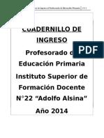 Curso de Ingreso 2014 III