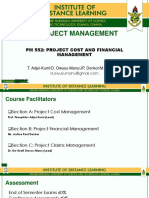 Project Claim Management 2019