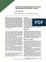 the etiologu of bullous myringitis and the role of mycoplasmas.pdf