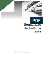 Seminário Leitura 2018