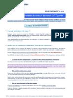 Les Clauses Particulières Du Contrat III