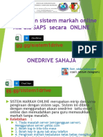 Tutorial Sistem Markah Online (Onedrive)