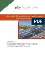 Pre Dimensionamiento de Sistema Fotovoltaico Autonomo