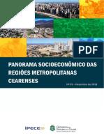 Panorama Socioeconomico Das Regioes Metropolitanas Cearenses