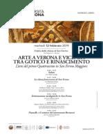 Arte e Musica a Verona 12 Febbraio 2019