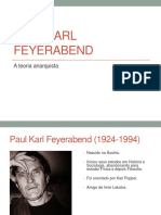 Paul Feyerabend Fil. Ling. Universidade Católica