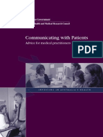 Communicating with Patients