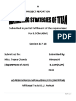 project report on titan (Autosaved).docx
