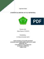 Cover Lapsus Endoftalmitis