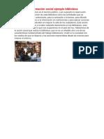 Centros de Información Social Ejemplo Biblioteca