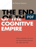 Boaventura de Sousa Santos - The End of the Cognitive Empire_ the Coming of Age of Epistemologies of the South-Duke University Press (2018)