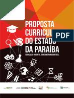 Proposta Curricular Do Estado Da Paraíba - Educação Infantil e Ensino Fundamental