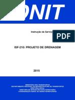 DNIT - ISF-210 - Projeto de Drenagem.pdf