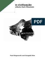 De Civilização o Manifesto Dark Mountain