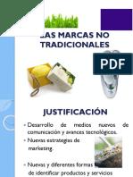 martcas no tradicionales en productos agroindustriales