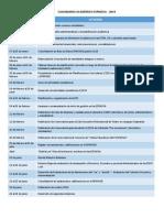 Calendario Ua.Calendario Academico Esfm Ua 2019 1 2 Docx