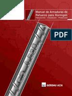 Manual de Armaduras de Refuerzo Para Hormigón; Fabricación, Instalación Y Protección - Carlos Rondon (GERDAU AZA S.a.)