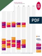 Planning Cours Neoness Défense Grande Arche