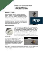 ELT1130 Anatomy of a Robot Notes