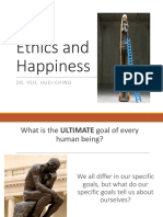 Ethics and Happiness