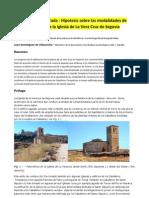 Articulo-Geometria Sagrada-Hipotesis Sobre Las Modal Ida Des de Proyecto de La Iglesia de La Vera Cruz de Segovia