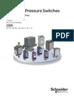 Switches de Presion Industriales  por Schneider Electric (2009)