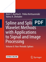 spline and spline wavelet method with applications to signal and image processing