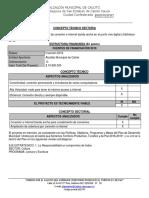 Modelo Concepto Soporte Tecnico Sectorial