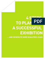 4 Steps to Planning a Successful Exhibition