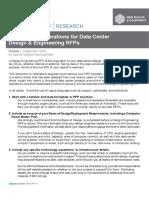 UPTIME  Design Build n Operate RFP for Data Center