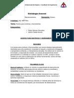 Aceros para matrices y herramientas.docx