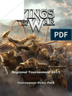 Pathfinder Kings of War Tournament Rules 2015 - Regional