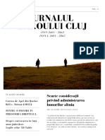 Jurnalul Baroului Cluj Nr. 2 Din 2018