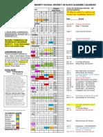 2018 19 Final Adj for Snow Days Academic Calendar Update 022019