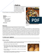 Gastronomía de Bolivia